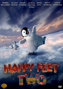 Happy Feet Two 2011 DVD Cover