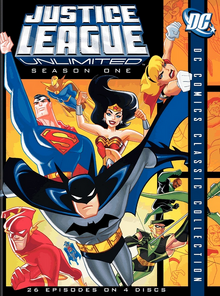 Justice League Unlimited 2004 DVD Cover