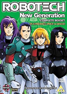 Robotech The New Generation 1985 DVD Cover