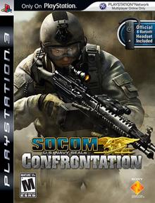 SOCOM U.S. Navy SEALs Confrontation 2008 Game Cover
