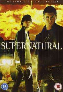 Supernatural 2005 DVD Cover