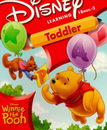 Disney's Winnie the Pooh Toddler 1999 Game Cover