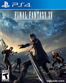 Final Fantasy XV 2016 Game Cover