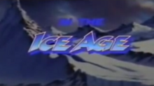 Dino Riders in the Ice Age 1990 Title Card