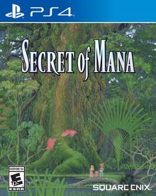 Secret of Mana 2018 Game Cover