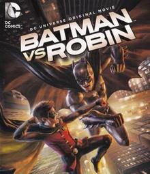 Batman vs Robin 2015 DVD Cover