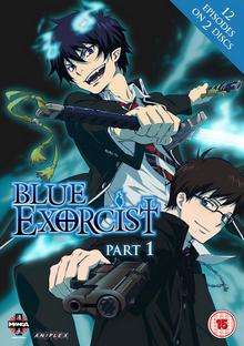 Blue Exorcist 2012 DVD Cover