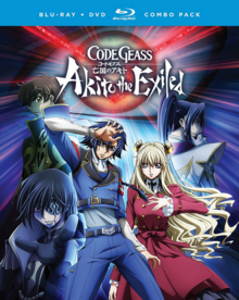 Code Geass Akito the Exiled 2017 Blu-Ray DVD Cover