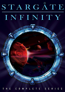 Stargate Infinity 2002 DVD Cover