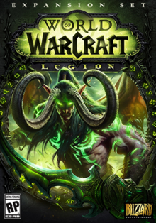 World of Warcraft Legion 2016 Game Cover