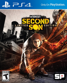 InFamous Second Son 2014 Game Cover