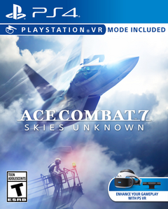 Ace Combat 7 Skies Unknown 2019 Game Cover
