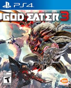 God Eater 3 2019 Game Cover