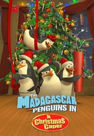 DreamWorks The Madagascar Penguins in a Christmas Caper 2005 Poster