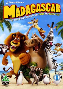 Madagascar 2005 DVD Cover