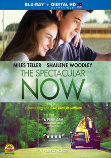 The Spectacular Now 2013 Blu-Ray Cover