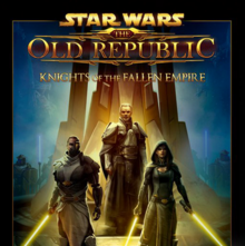 Star Wars The Old Republic Knights of the Fallen Empire 2015 Game Cover