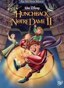 The Hunchback of Notre Dame II 2002 DVD Cover