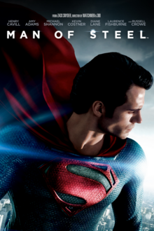 Man of Steel 2013 DVD Cover