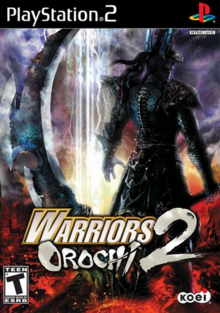 Warriors Orochi 2 2008 Game Cover