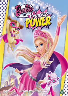 Barbie in Princess Power 2015 DVD Cover