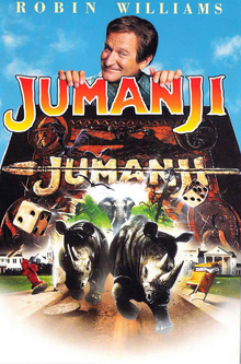 Jumanji 1995 DVD Cover