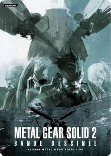 Metal Gear Solid 2 Bande Dessinée 2008 Novel Cover