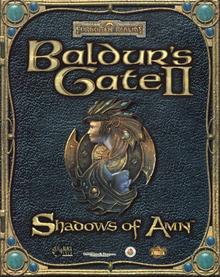 Baldur's Gate II Shadows of Amn 2000 Game Cover