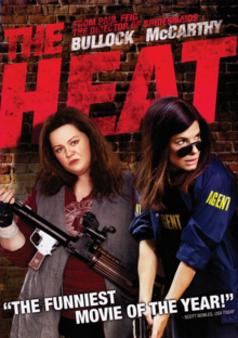The Heat 2013 DVD Cover