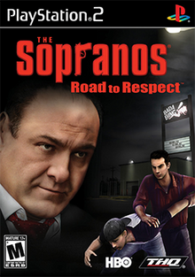The Sopranos Road to Respect 2006 Game Cover