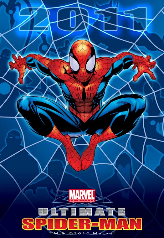 Ultimate Spider Man 2012 Poster