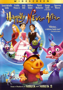 Happily N'Ever After 2006 DVD Cover