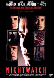 Nightwatch 1997 DVD Cover