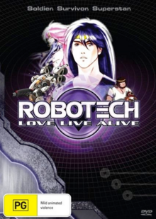 Robotech Long Live Alive 2013 DVD Cover