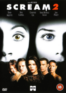 Scream 2 1997 DVD Cover