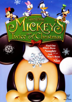 Mickey's Twice Upon a Christmas 2004 DVD Cover