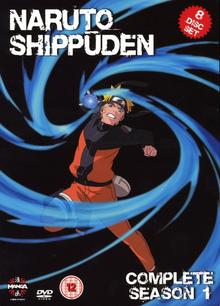 Naruto Shippuden 2009 DVD Cover