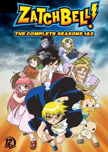 Zatch Bell! 2005 DVD Cover