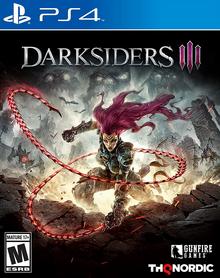 Darksiders III 2018 Game Cover