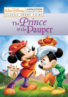 The Prince and the Pauper 1990 DVD Cover