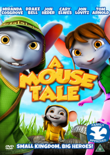 A Mouse Tale 2015 DVD Cover