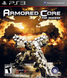 Armored Core For Answer 2008 Game Cover
