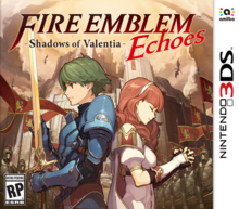 Fire Emblem Echoes Shadows of Valentia 2017 Game Cover