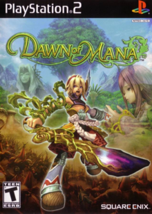 Dawn of Mana 2007 Game Cover