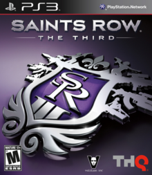Saints Row The Third 2011 Game Cover