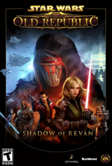 Star Wars The Old Republic Shadow of Revan 2014 Game Cover