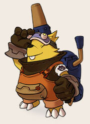 Hero mole
