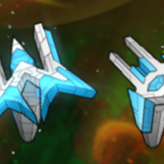 A side-by-side comparison of the Galaxy Turret and the Nova Turret.