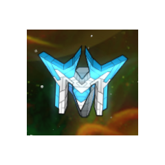A Galaxy Turret in the mobile version of the game.