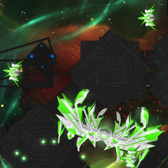 Devastator with Repair Drones in the mobile version of the game.